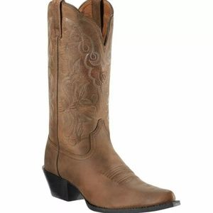 Ariat Western J Toe Boots Heritage Size 7.5B